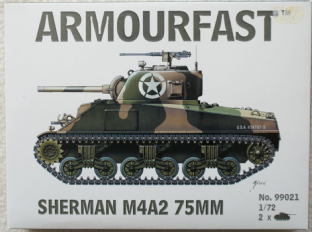 Armourfast 20mm 99021 M4A2 75mm Sherman